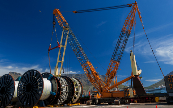 Heavy lifts Cape Town